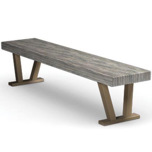 Homecrest Atlas Bench with V Legs