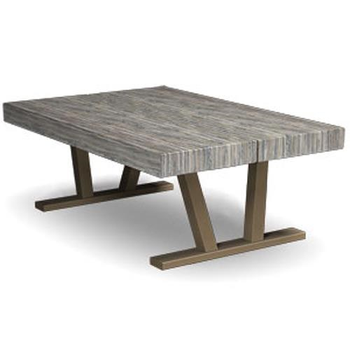Homecrest Atlas Coffee Table with V Legs