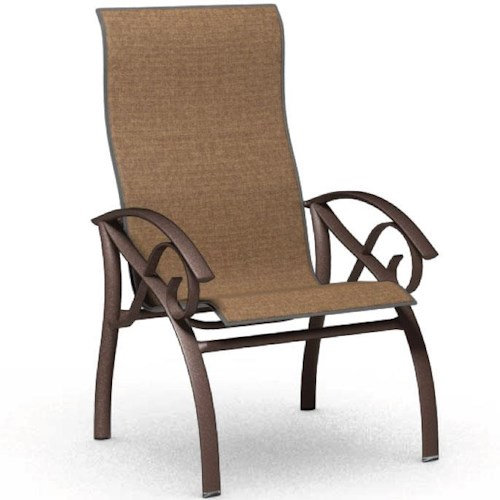 Homecrest Kensington Collection High Back Dining Chair with Sleek Design