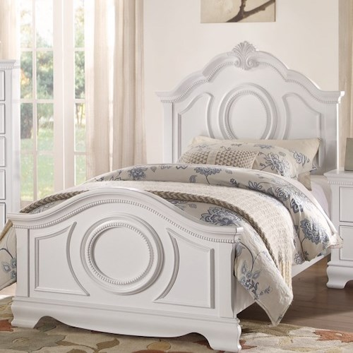 Homelegance 2039W Traditional Full Bed