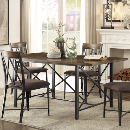 Homelegance 5512 Contemporary Dining Table