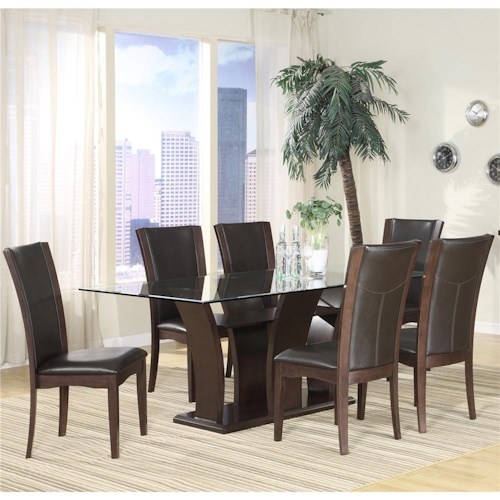 Homelegance 710 5Pc Semi-Formal Dining Room