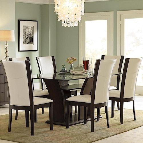 Homelegance 710 5Pc Semi-Formal Dining Room