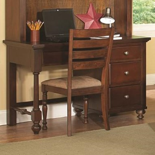 Homelegance Aris Casual Computer Writing Desk with 4 Drawers