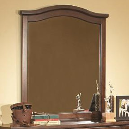 Vendor 2258 Aris Casual Framed Vertical Mirror