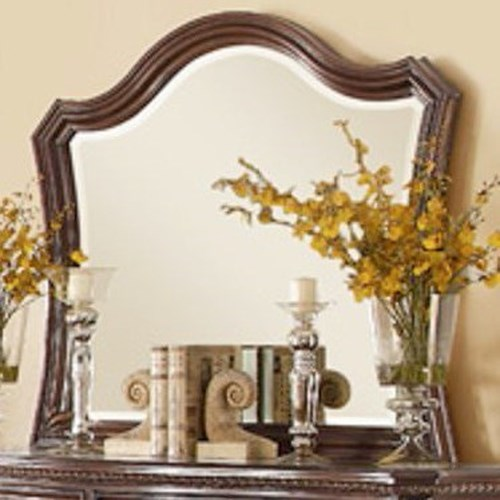 Homelegance Bonaventure - 1935 Traditional Mirror with Elegant Wood Moulding