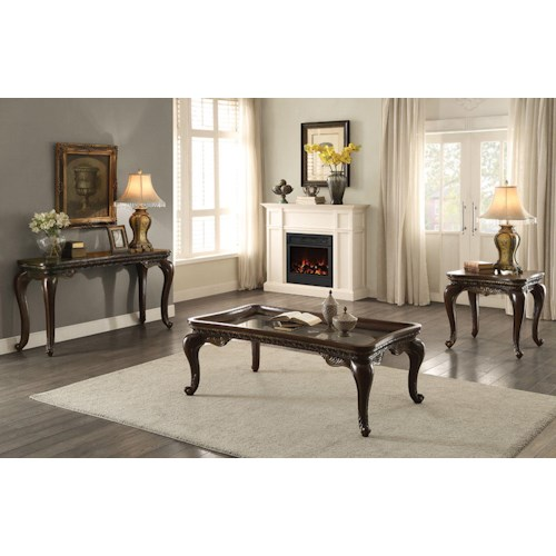Homelegance Bonaventure Occ Occasional Table Group