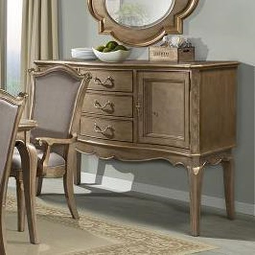Homelegance Chambord Server with 2 Doors
