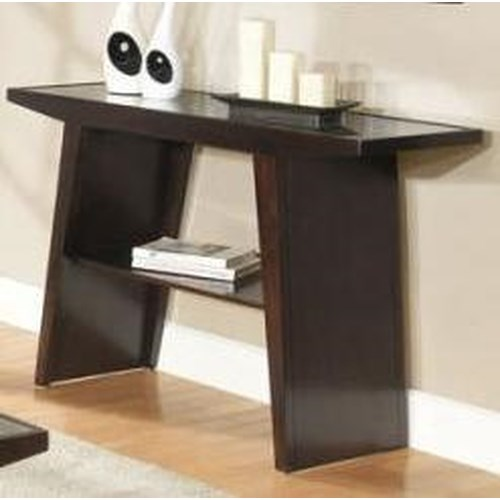 Homelegance Cullum  Contemporary Sofa Table w/ Shelf