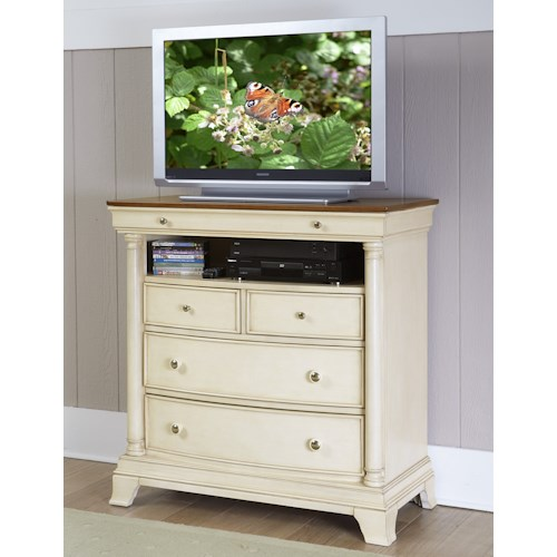 Homelegance Inglewood Cottage TV Chest with Media Shelf