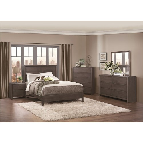 Homelegance Lavinia Queen Bedroom Group
