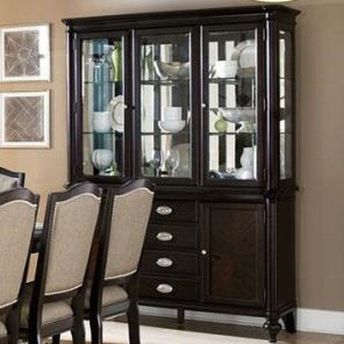 Homelegance Marston Dining Buffet w/ Hutch