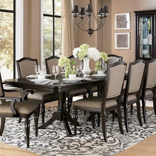 Homelegance Marston Dining Table with Extension Leaf