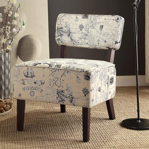 Vendor 2258 Orson Accent Chair with Oversized Seat