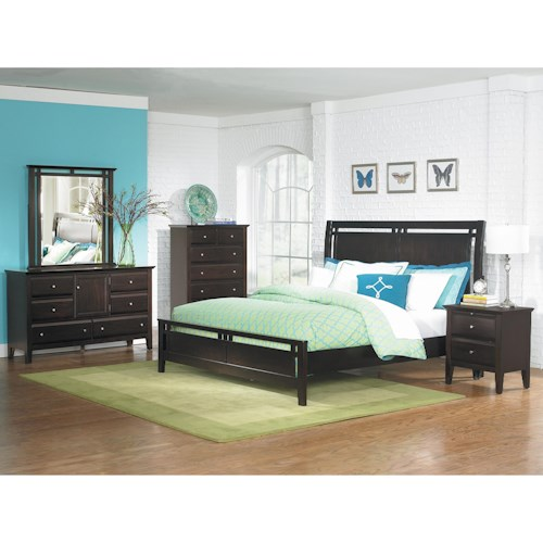 Homelegance Verano Queen Bedroom Group
