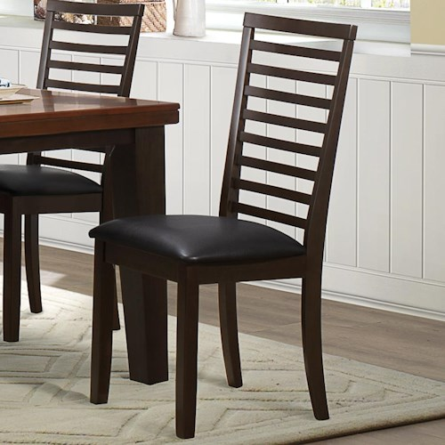 Homelegance Walsh Dining Side Chair with Upholstered Seat