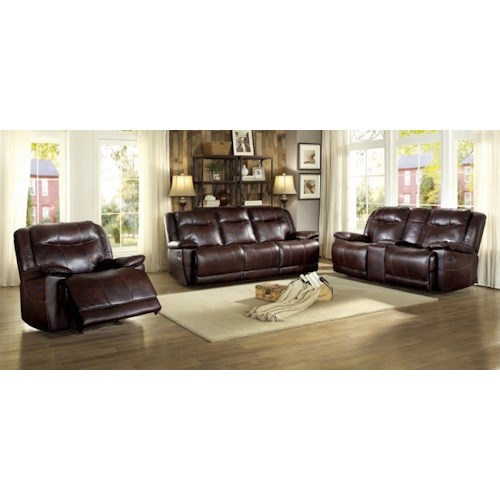 Homelegance Wasola Reclining Living Room Group
