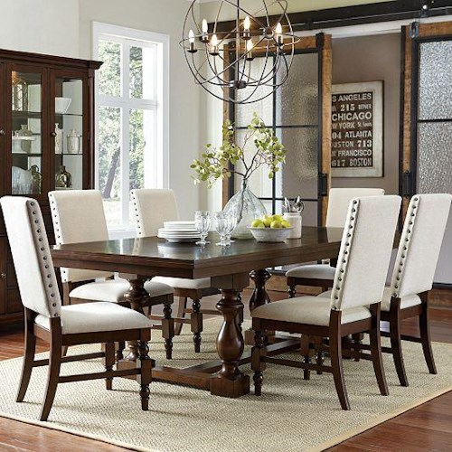 Homelegance Yates  7 Piece Table & Chair Set