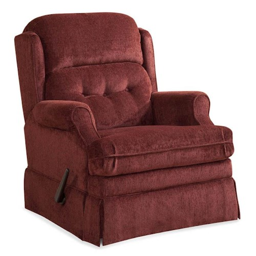 Comfort Living 106  Swivel Glider Recliner w/ Wing Back