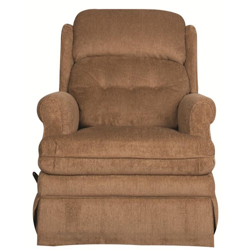 Morris Home Furnishings Samuel Swivel Glider Recliner