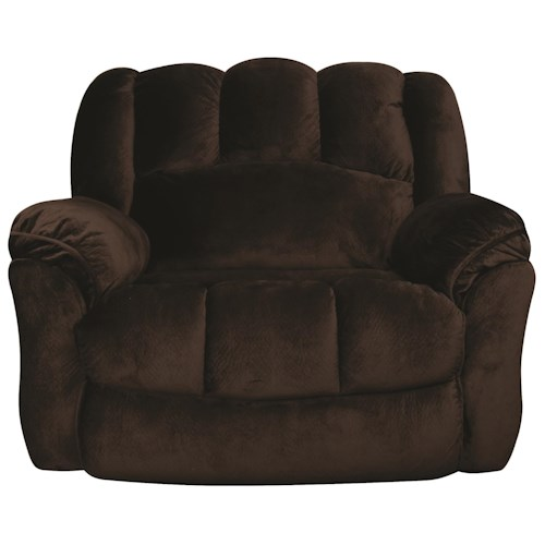 Morris Home Furnishings Tanner Reclining Chair and a Half