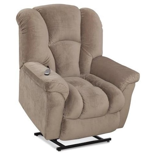 HomeStretch 116 Casual Lift Recliner with Bucket Seat