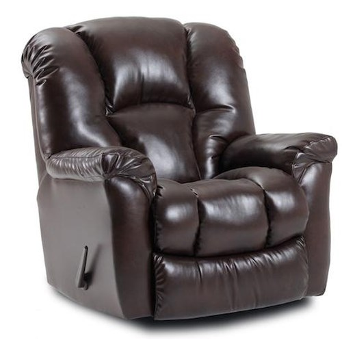 Comfort Living CR Casual Rocker Recliner with Bucket Seat