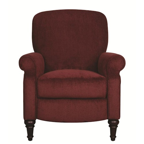 Morris Home Furnishings Dana Hi Leg Recliner