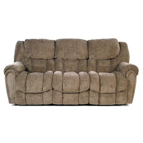 Comfort Living Baxter Casual Power Reclining Sofa With Pillow Top Arms