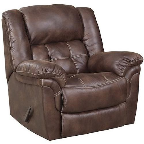 HomeStretch 129 Casual Rocker Recliner