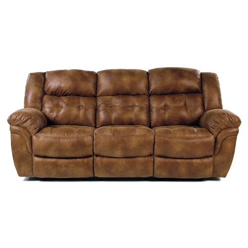 Comfort Living Sierra Casual Power Reclining Sofa