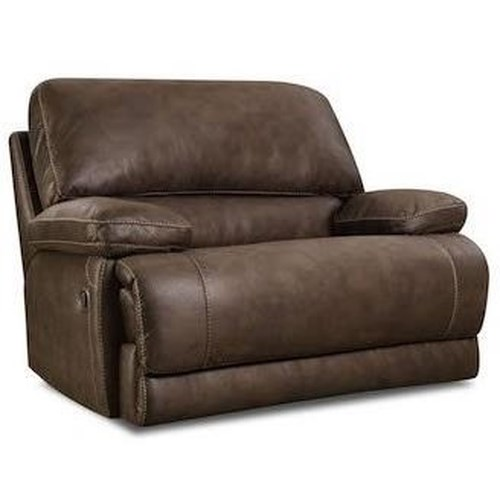 Comfort Living 147 Casual Chair-and-a-Half Recliner with Pillow Arms