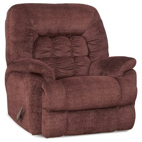 Comfort Living Andre Casual XTreme Big & Tall Recliner with Banded Biscuit Back