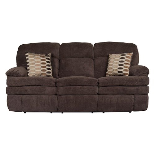Morris Home Furnishings Trevor Reclining Sofa