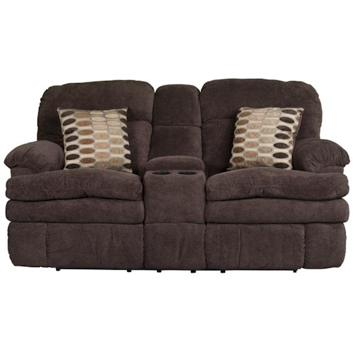 Morris Home Furnishings Trevor Reclining Loveseat