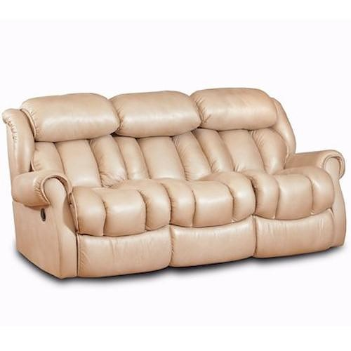 Comfort Living Cody Casual Reclining Sofa with Channel Back