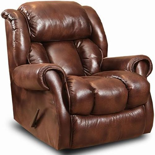 Comfort Living Cody Casual Rocker Recliner with Channel Back