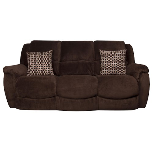 Morris Home Furnishings David Reclining Sofa