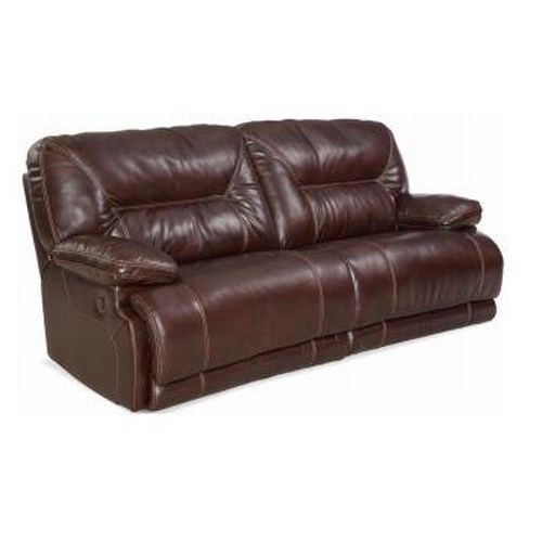 HomeStretch Marshall Casual Two-over-two Power Sofa with Pillow Arms