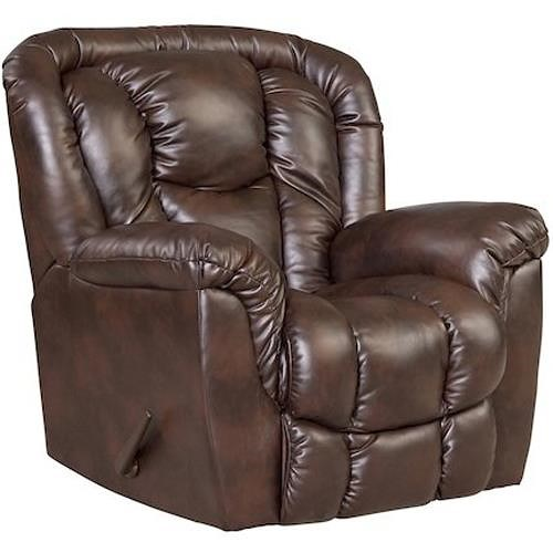 HomeStretch Samson Casual Recliner with Pillow Top Arms