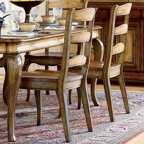 Hooker Furniture Vineyard Ladderback Side Chair