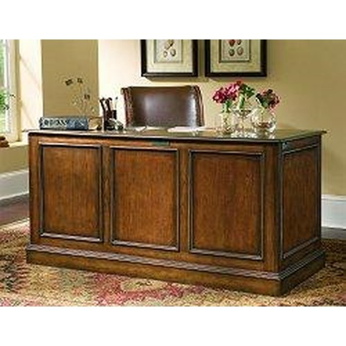Hooker Furniture Brookhaven Double Pedestal Drawer Desk