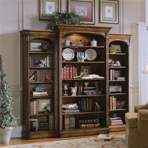 Hamilton Home Brookhaven Three Piece Open Bookcase