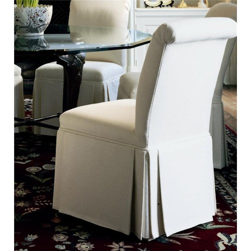 Century Century Chair Scrolled Back Hostess Chair