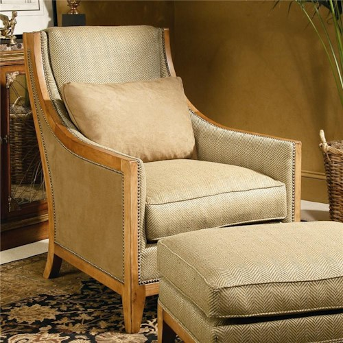 Century Century Chair Chair with Low Profile Arms