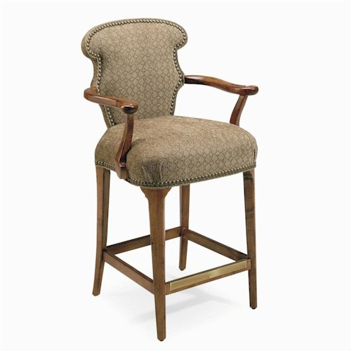 Century Century Chair Bar Stool with Arm Rests