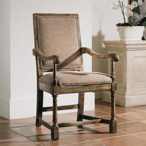 Century Century Chair Spacious Rectangular Back Chair