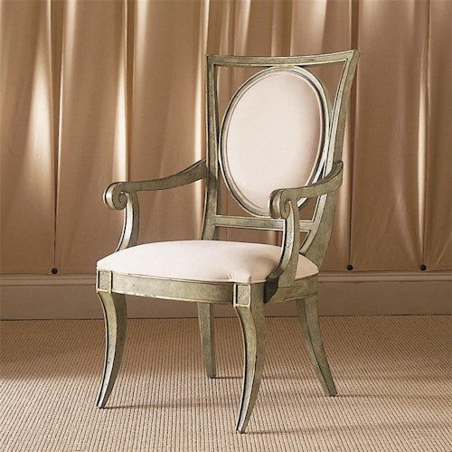 Century Century Chair Irregular Square Back Chair