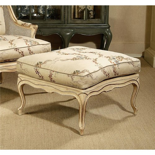 Century Century Chair Antique Style Wide Ottoman