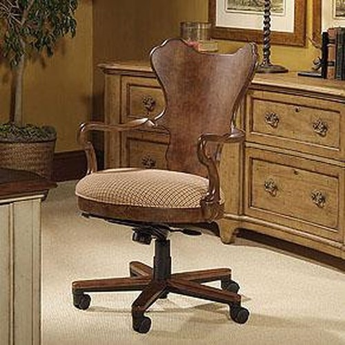 Century Century Chair Office Chair with Round Plush Seat